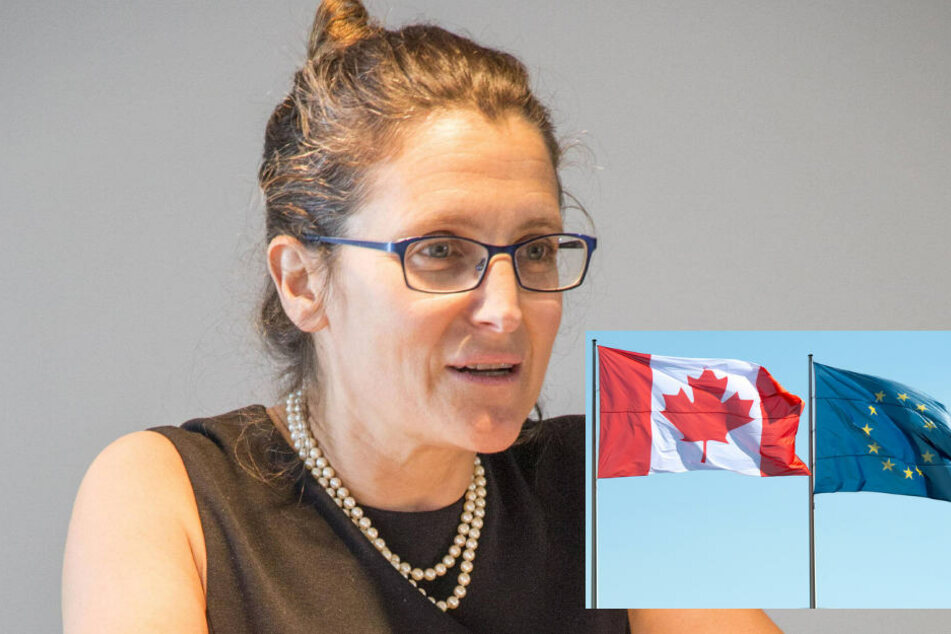 "Handelsministerin Chrystia Freeland (48): ""Kanada ist weiterhin bereit..."""