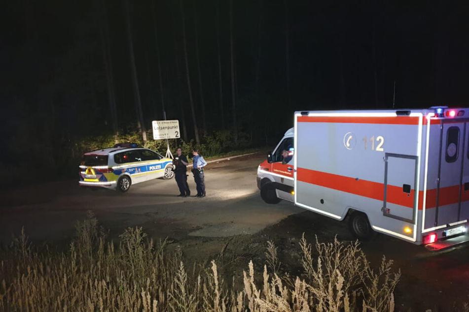 Ein bewaffneter Mann befand sich auf dem Rastplatz Michendorf Süd