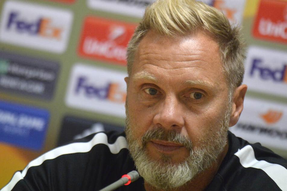 Thorsten Fink (51) ist Lukas Podolskis Trainer bei Vissel Kobe (Archivbild).