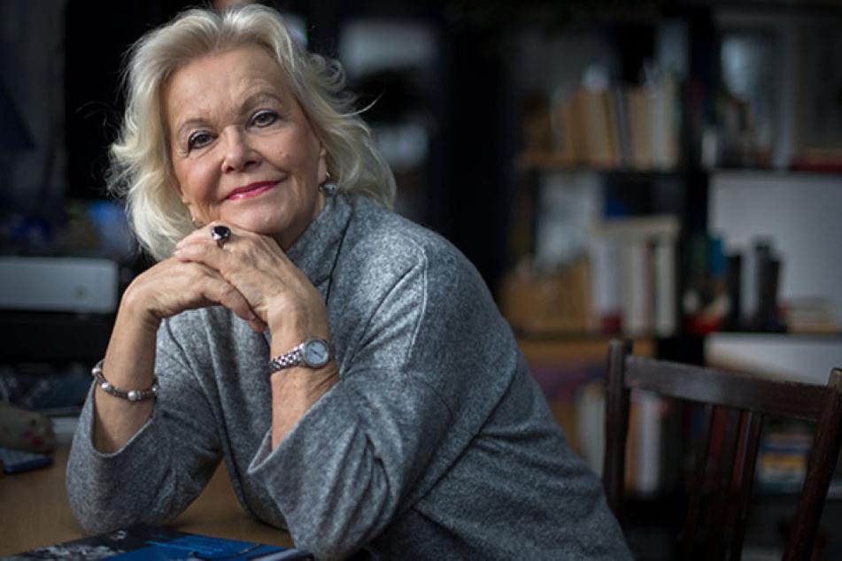 Keine Frage des Alters: Dorit Gäbler ist auch mit (fast) 75 Jahren eine attraktive Frau. Herzlichen Glückwunsch!