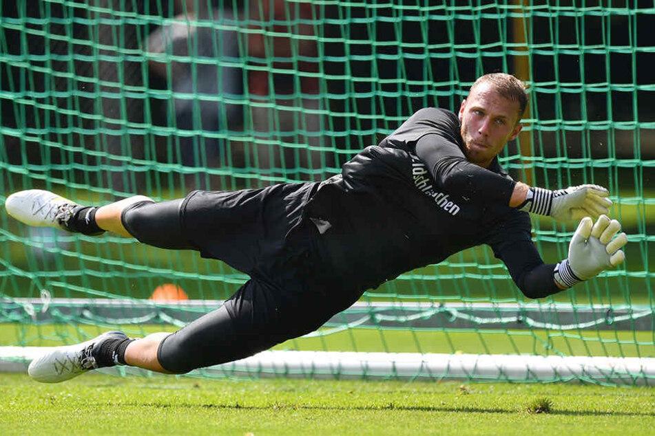 Marvin Schwäbe flog zwei Jahre durchs Dynamo-Tor, reifte hier zu einem gestandenen Zweitliga-Keeper. Jetzt wird er wohl nach Kopenhagen wechseln.