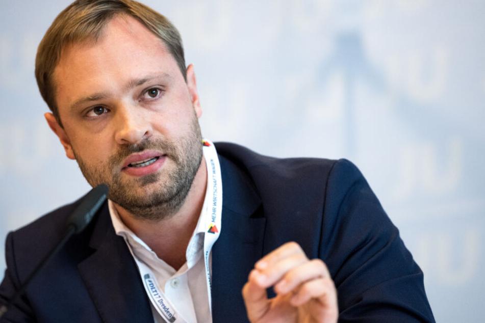 Alexander Dierks (32, CDU) will einen Helmut-Kohl-Platz in Chemnitz.