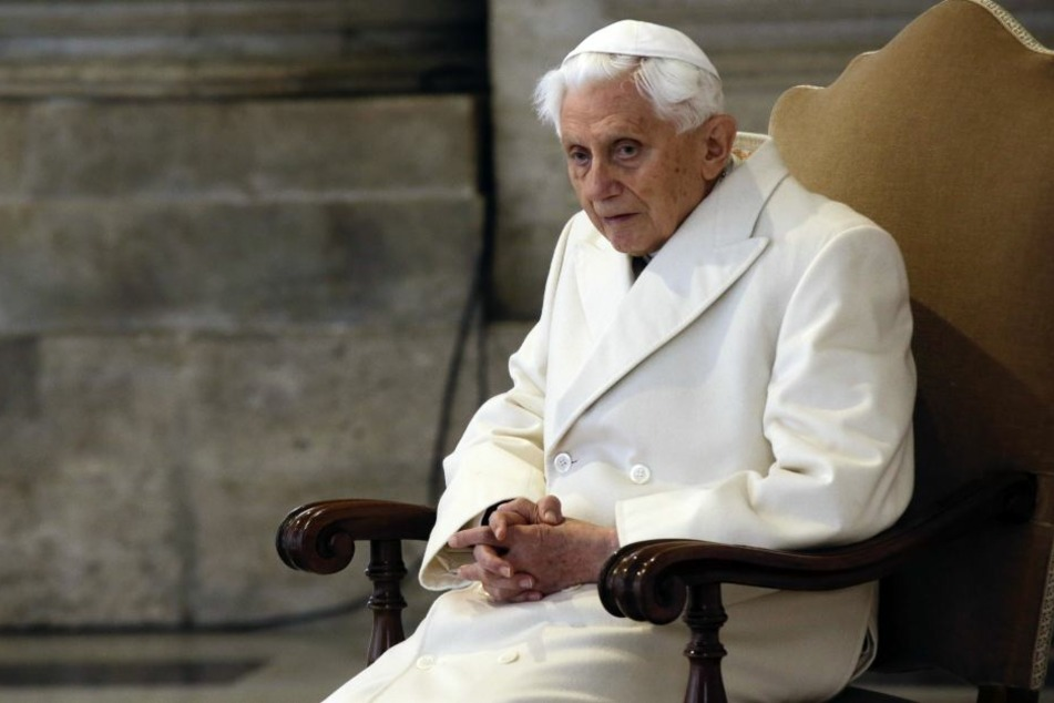 Der ehemalige Papst Benedikt (91) trat im Februar 2013 zurück.