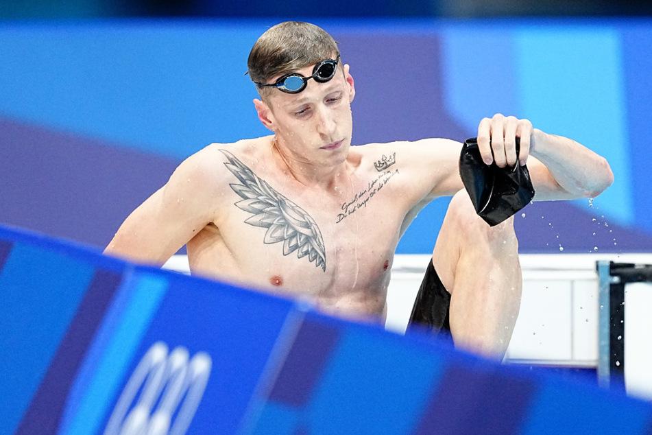 Der Doppel-Weltmeister im Schwimmen, Florian Wellbrock (23), belegte Platz vier.