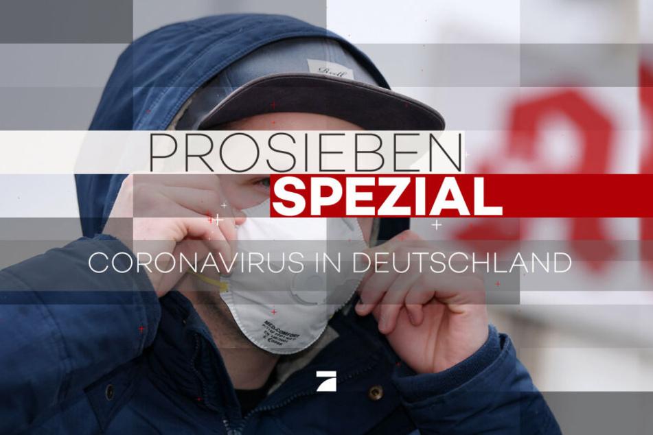 ProSieben sendet eine Sondersendung zum Coronavirus.