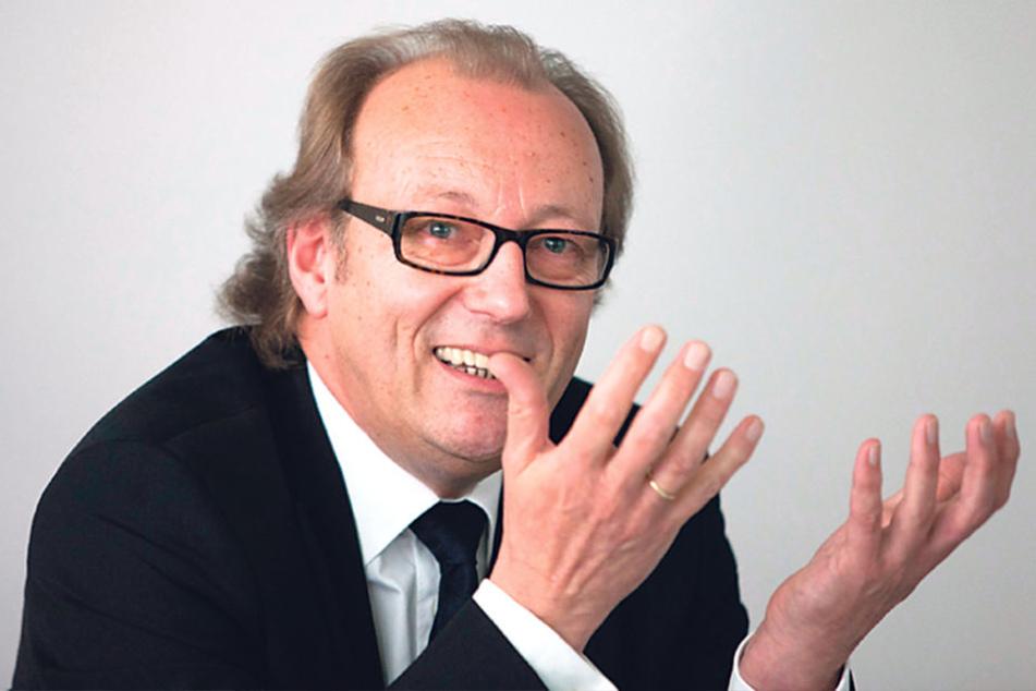 SAB-Vorstands-Chef Stefan Weber hofft, dass die neue Zentrale in der zweiten  Hälfte des Jahres 2019 fertig ist.