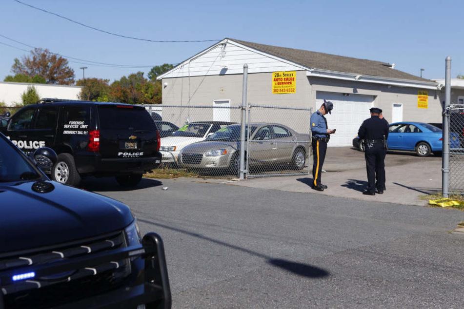 In einem Gewerbepark in Edgewood wurden drei Mitarbeiter getötet.