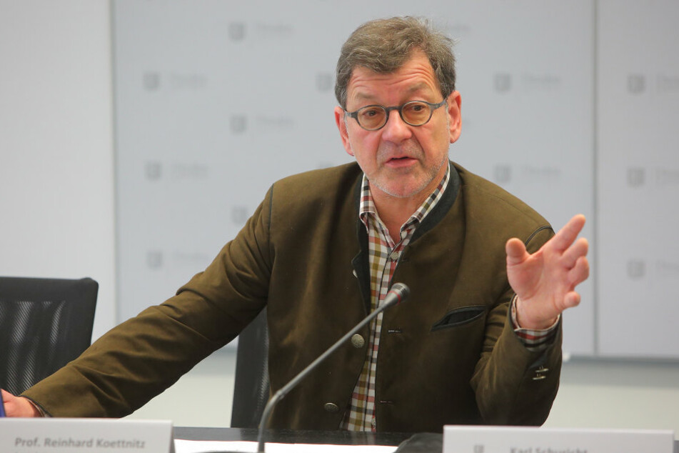 Reinhard Koettnitz (61), Chef des Straßen- und Tiefbauamtes, verbaut 2017  insgesamt 32 Millionen Euro.