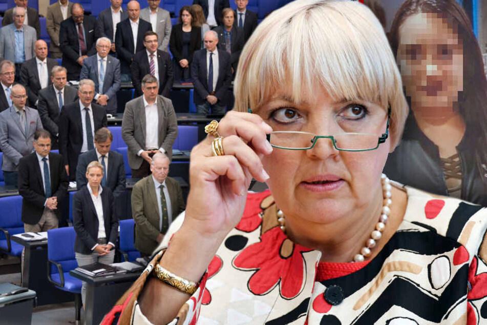 Nach Schock-Schweigen für Susanna: Roth wegen AfD-Redeverweis fast in Polizeischutz