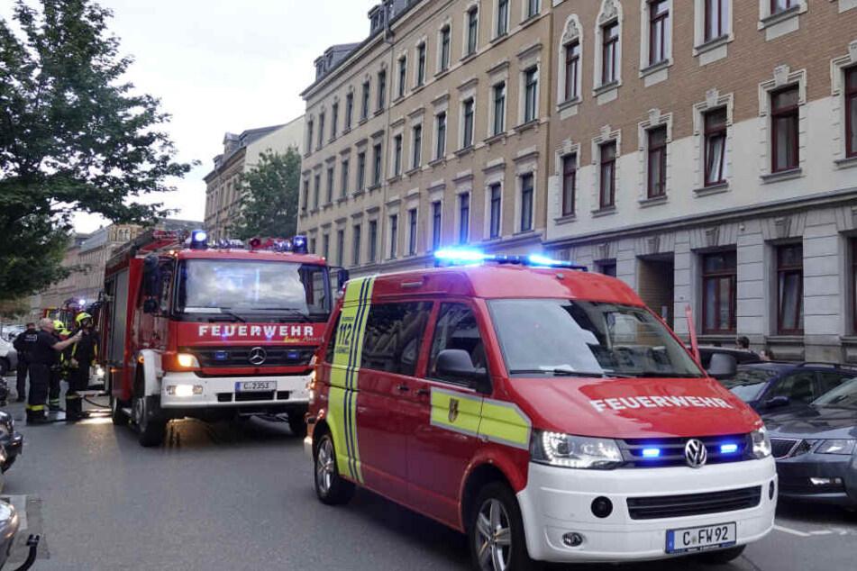 Feuerwehr-Einsatz in Chemnitz: Verbranntes Essen schuld?