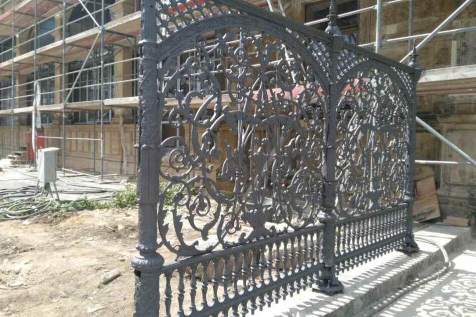 Auch ein historischer Zaun wurde erhalten.
