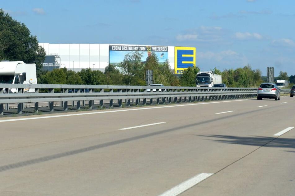 Das Edeka-Zentrallager in Berbersdorf an der A4 wurde erst vor vier Jahren in Betrieb genommen.