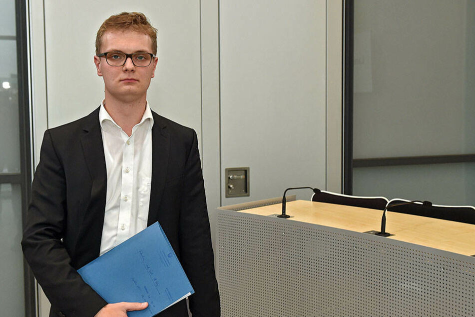 Valentin Lippmann (27, Grüne) ist unzufrieden mit der Antwort der Landesregierung.