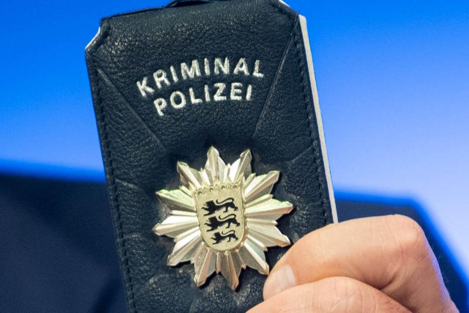 Prototyp einer Polizeimarke.