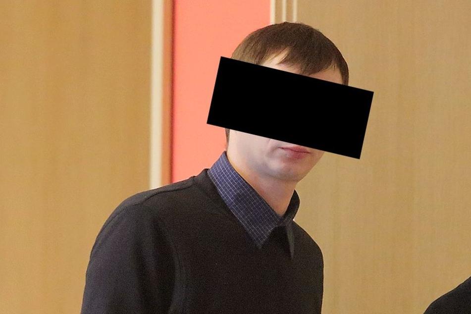 Er kaufte am liebsten im Internet: Franz F. (30) gestern am Dresdner Amtsgericht.