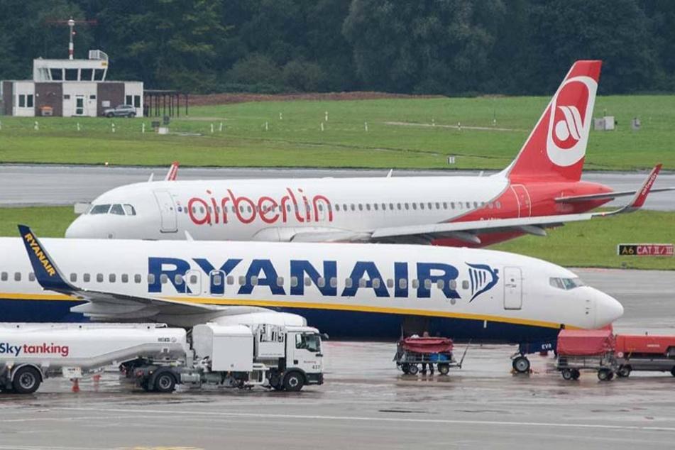 Ryanair hat neben der Lufthansa und EasyJet ebenfalls Interesse an einer Übernahme von Air Berlin.