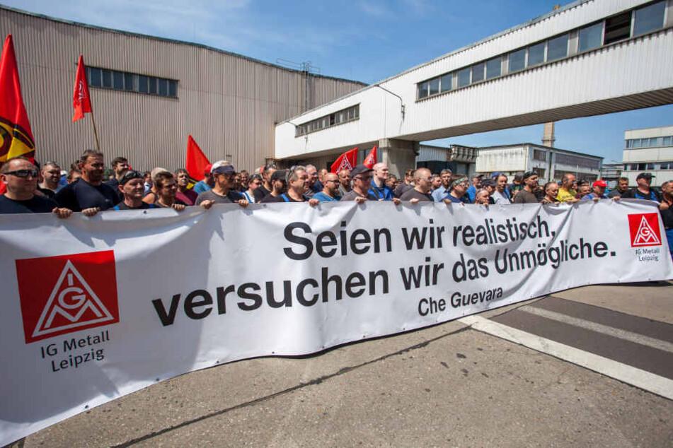 Verhandlungen geplatzt: Bei Halberg Guss stehen Zeichen auf Streik!