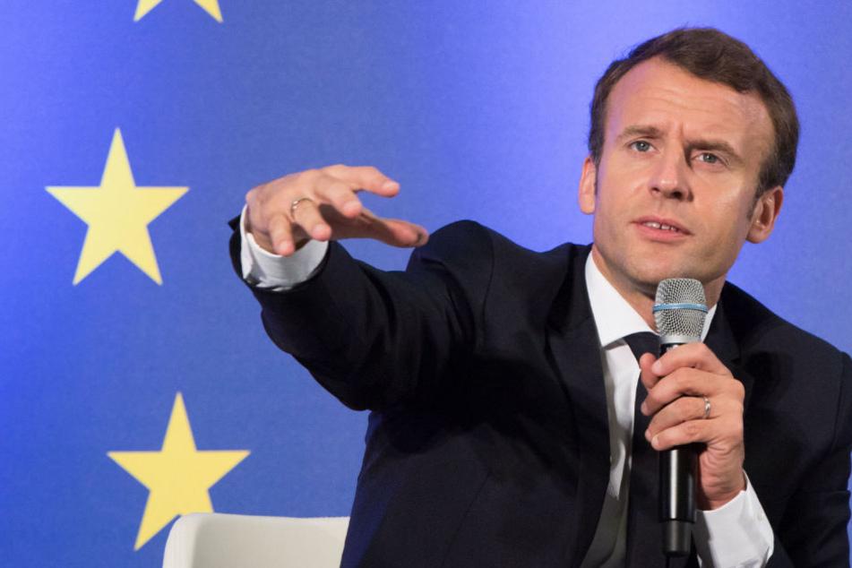 In Erziehung und Ausbildung junger Leute sieht Macron ein Mittel gegen Radikalisierung.