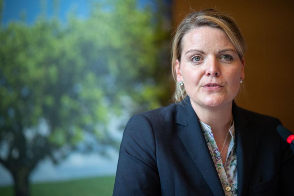 Christina Schulze Föcking ist NRW-Agrarministerin.