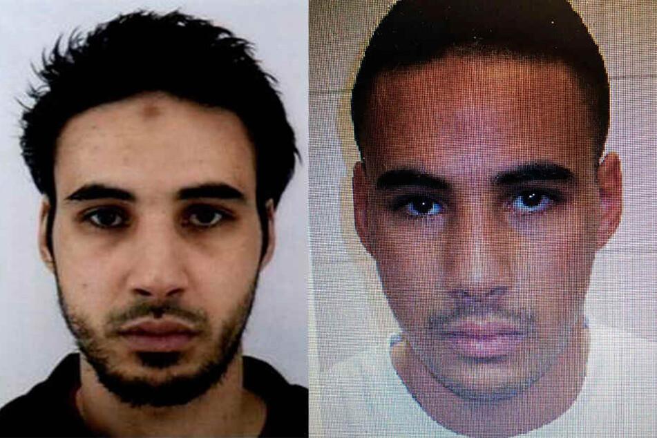 Chérif Chekatt wurde mit diesen Bildern von der Polizei gesucht.