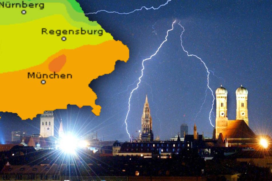 Wolken, Schauer und Gewitter! So wird das Wetter in München