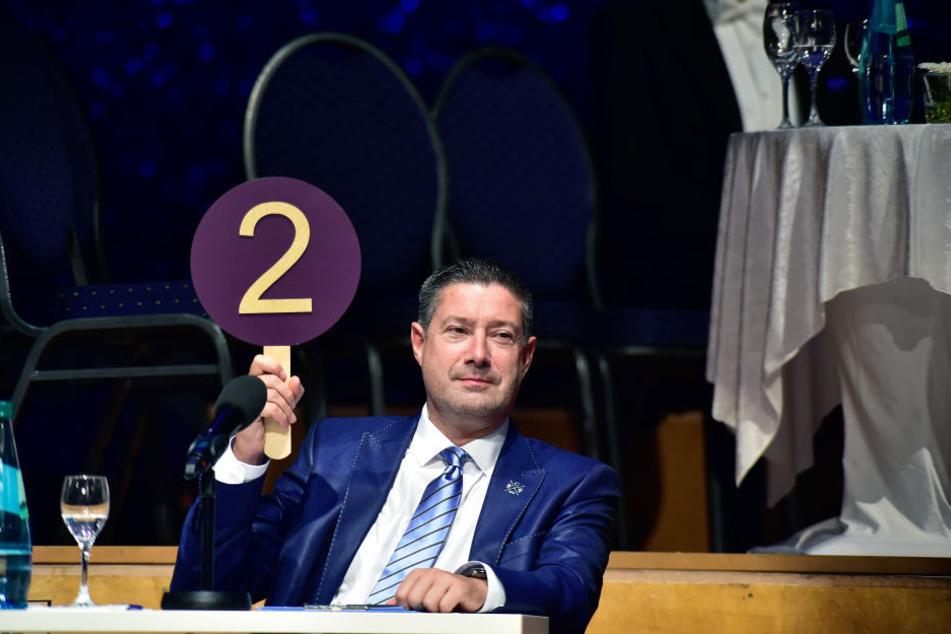 """""""Let's Dance""""-Juror Joachim Llambi (54) wird sich die Chemnitzer Promis ordentlich zur Brust nehmen."""