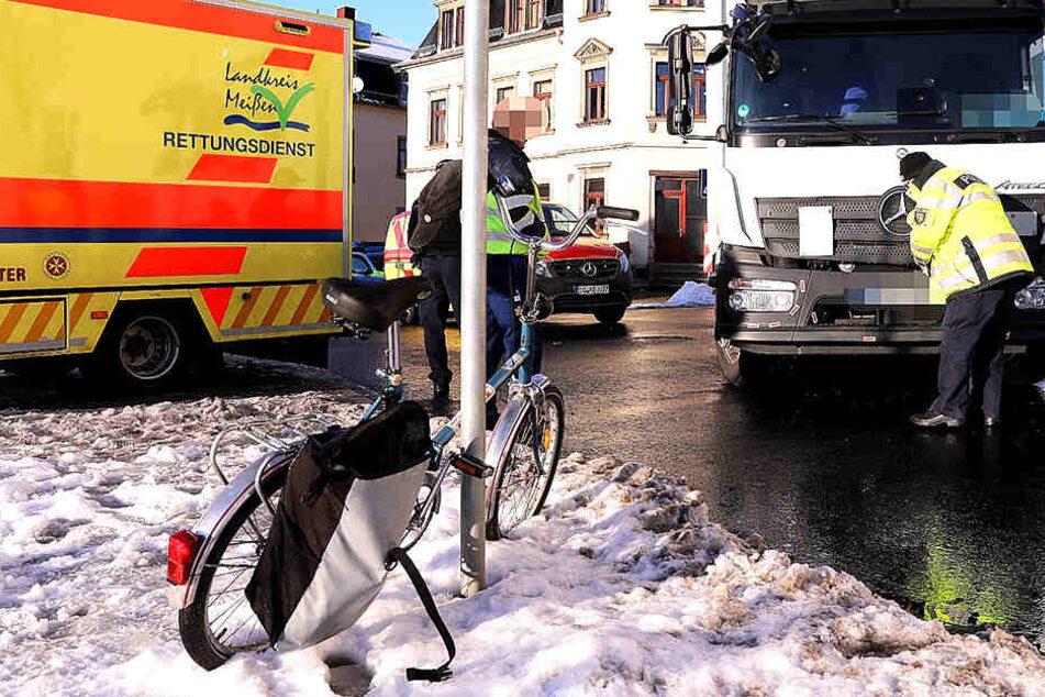 Vom Rettungsdienst wurde das Unfallopfer behandelt.