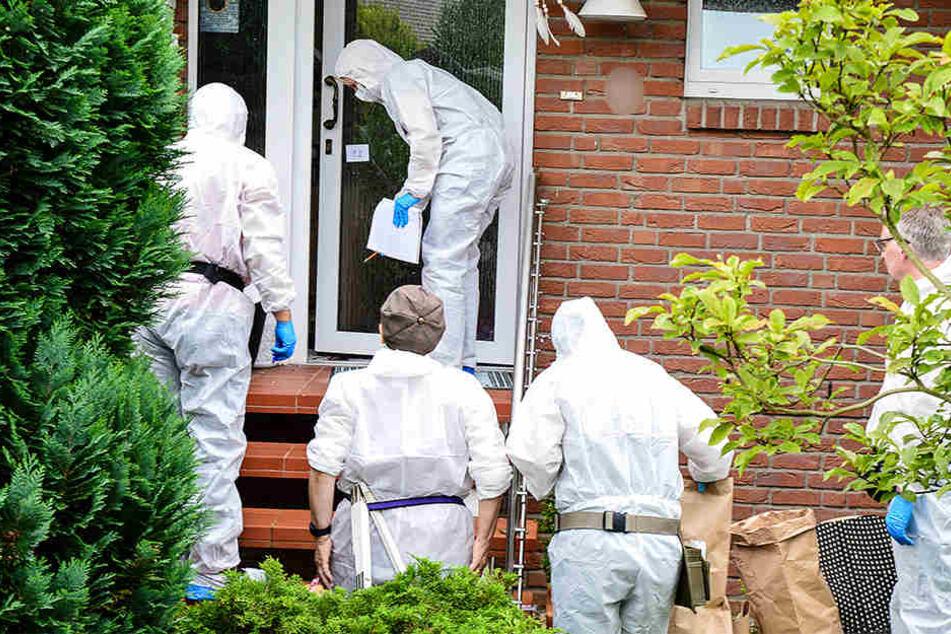 Die Mordkommission nahm die Ermittlungen auf.