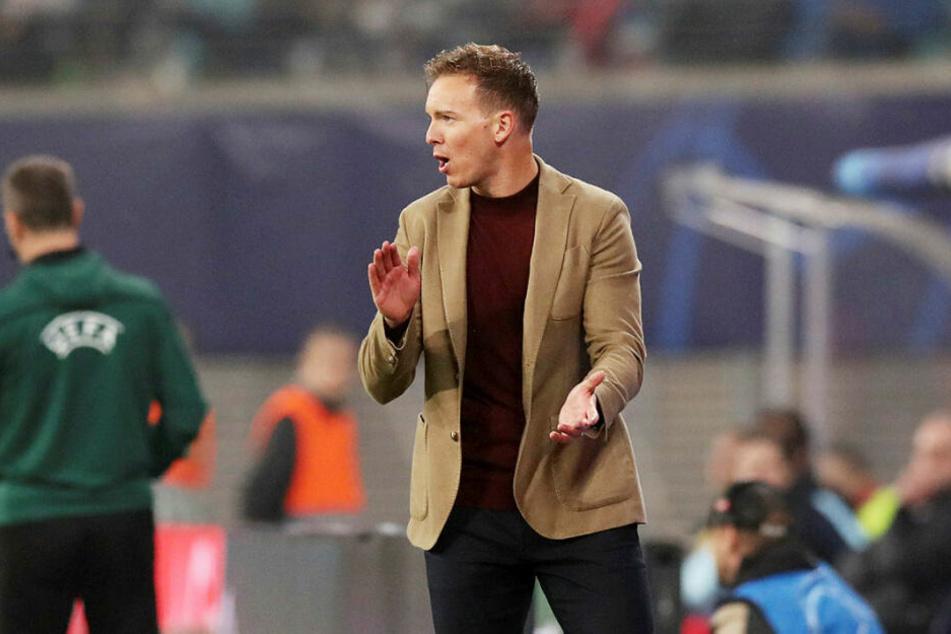 Applaus, Applaus! Trainer Julian Nagelsmann freute sich über den Sieg gegen Zenit St. Petersburg und die damit verbundene Tabellenführung in Gruppe G.