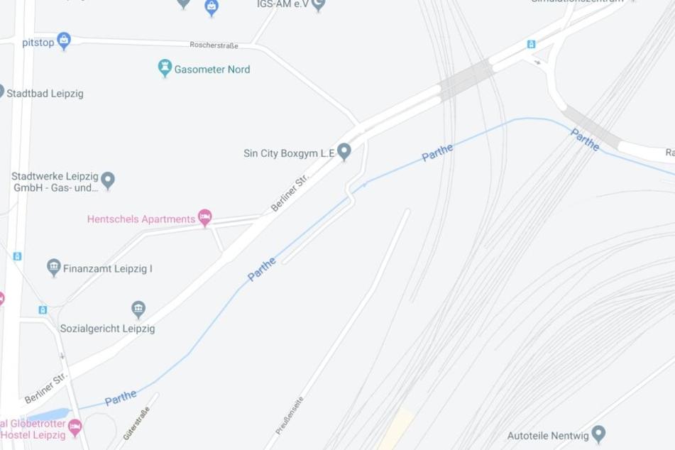 Der Vorfall ereignete sich in der Berliner Straße.
