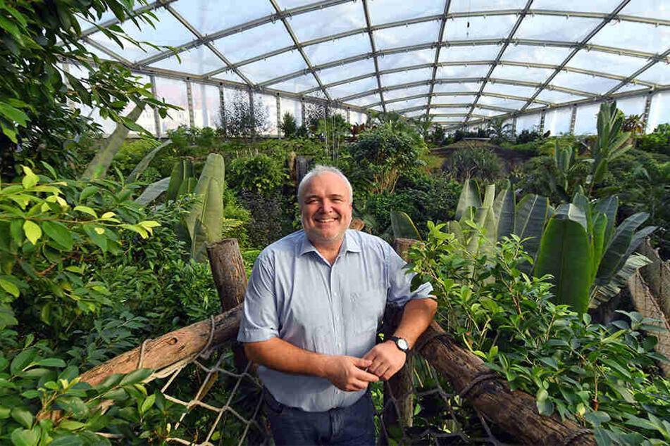 Seit mehr als 20 Jahren ist Jörg Junhold (55) Direktor des Leipziger Zoos.