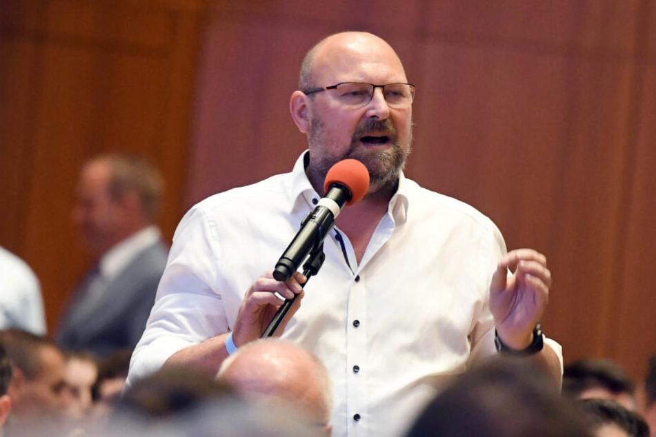 Schatzmeister Frank Kral.