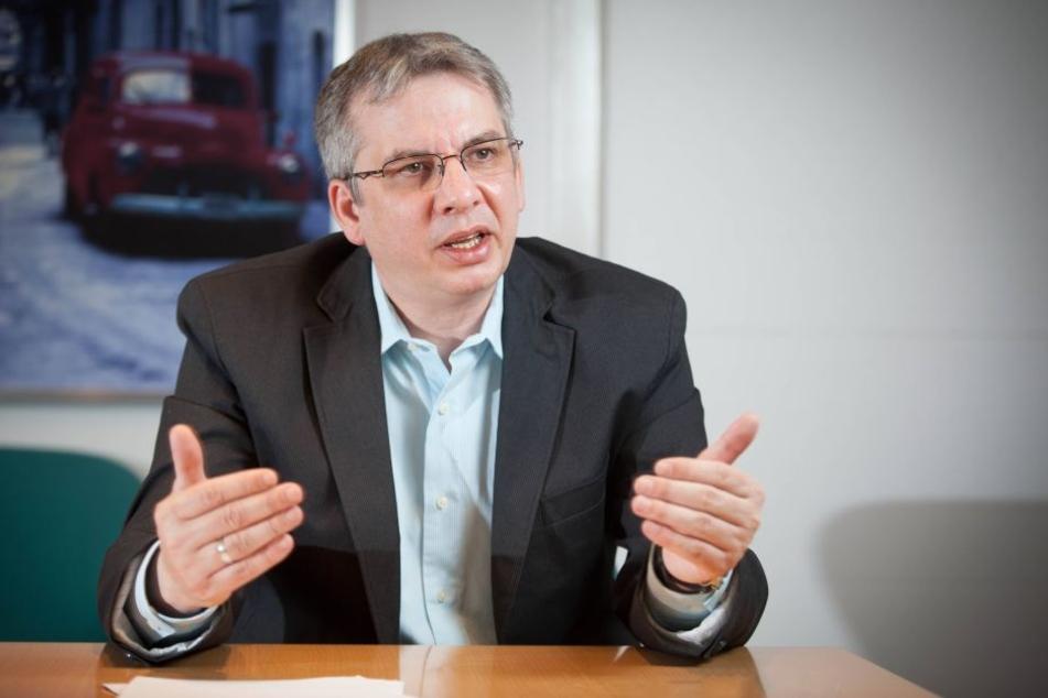 Jens Heimann ist Gesundheitsamtsleiter von Dresden