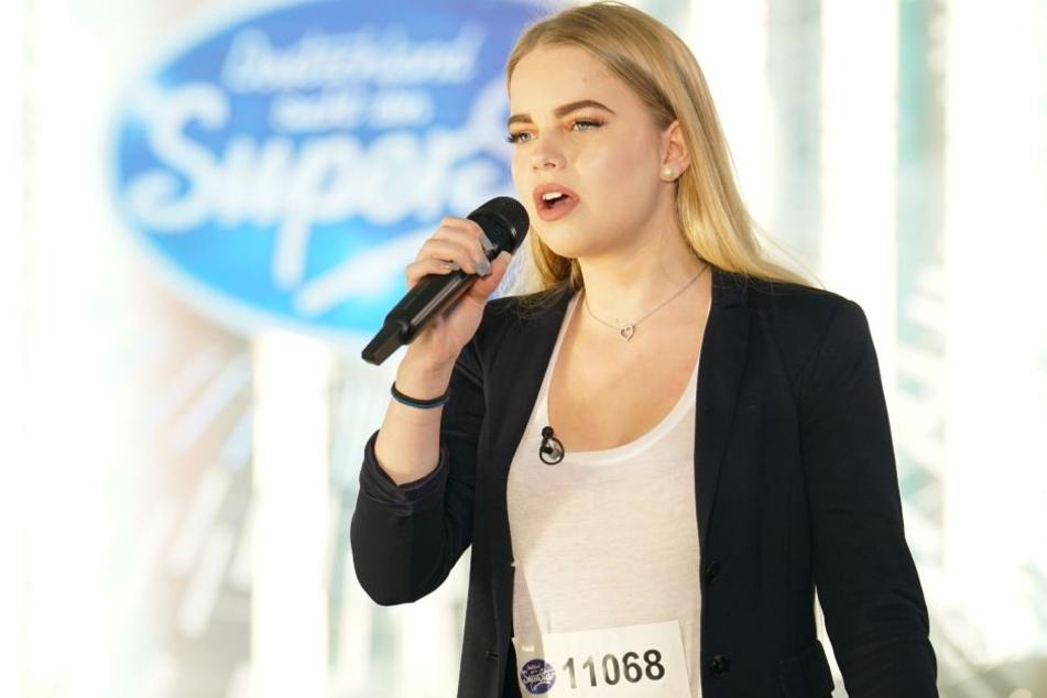 """Sächsin Marah Hawelka (16) aus Markkleeberg performt am Samstag """"Almost Lover"""" und will eine Runde weiter kommen."""