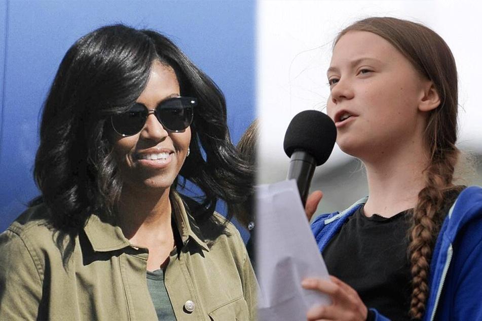 Unter den 15 Cover-Frauen befinden sich auch sehr prominente Damen wie etwa Michelle Obama und Greta Thunberg.