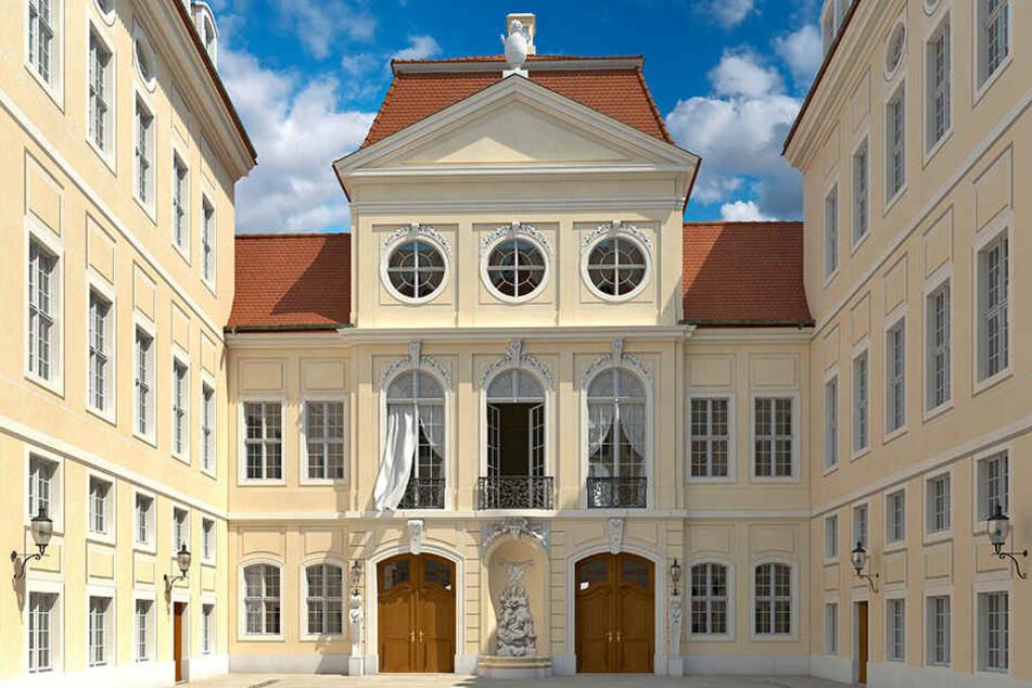 """Das geplante """"Quartier Hoym"""" der CG-Gruppe am Neumarkt startet mit Verzögerung."""