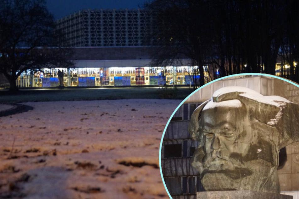 Schnee in Sachsen, nun auch in der Stadt: Wetterdienst warnt vor Frost und Glätte