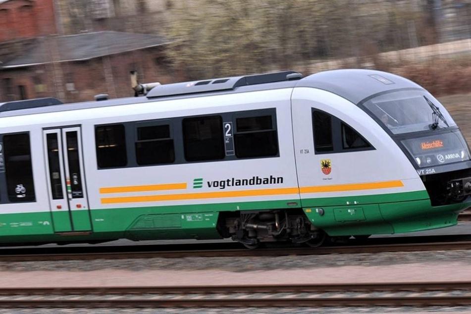 In der Vogtlandbahn ereignete sich der Vorfall.