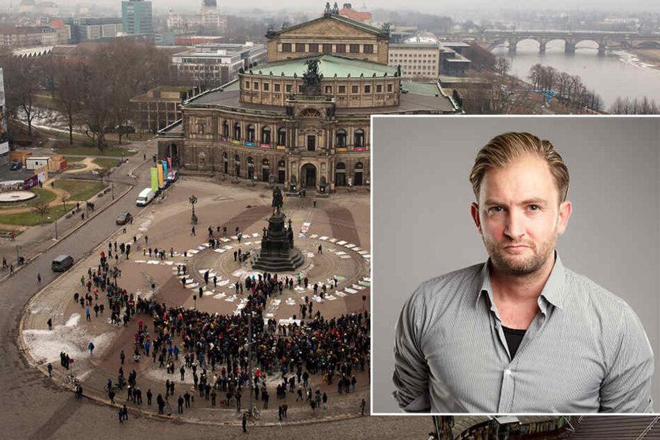 TAG24-Redakteur Sebastian Günther hat sich Gedanken über die neuen Kunstwerke in Dresden gemacht.