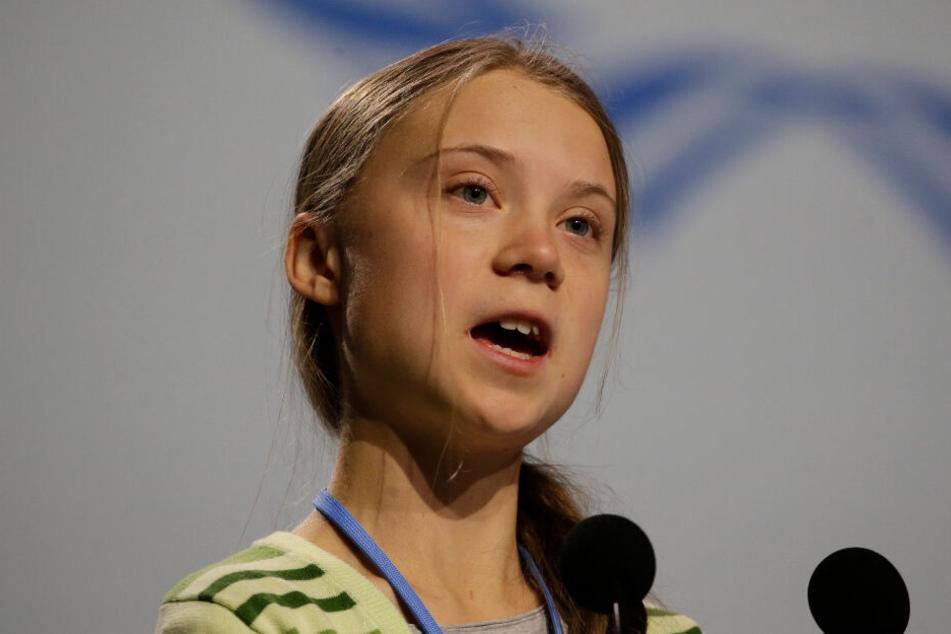 Greta Thunberg (16), schwedische Klimaschutzaktivistin, spricht bei der UN-Klimakonferenz.