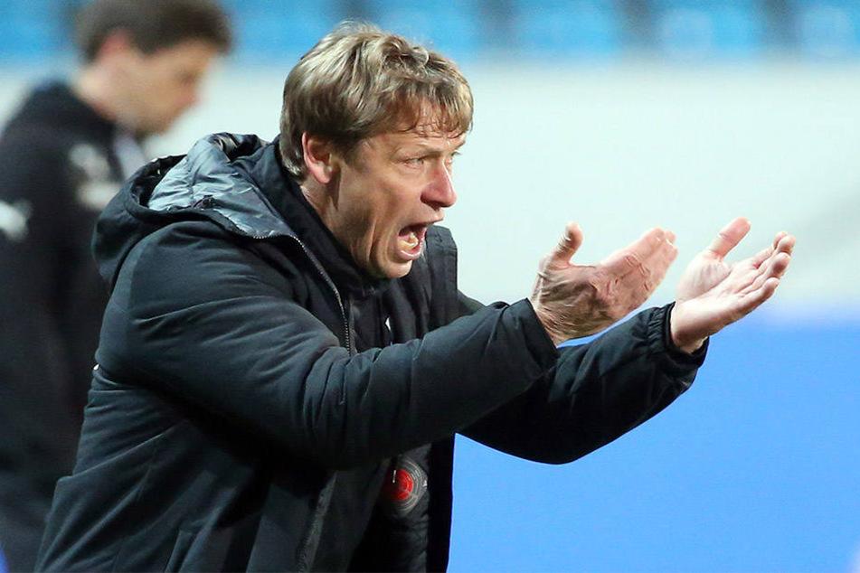 CFC-Trainer Sven Köhler steht im Ostderby nur eine Notelf zur Verfügung