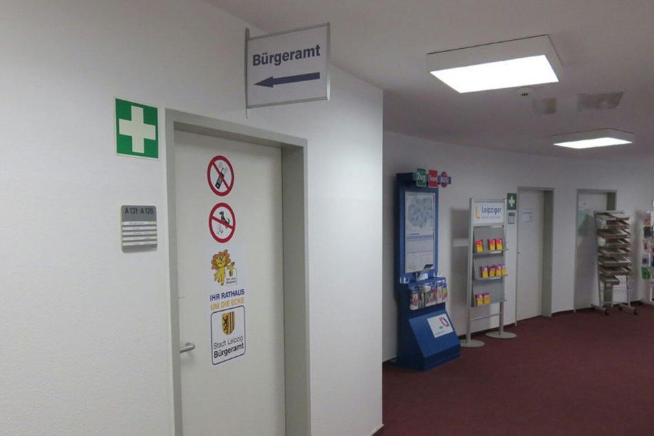 Ein Asylbewerber hat im Bürgeramt Leipzig-GrünauReizgas versprüht. Sechs Personen wurden verletzt.