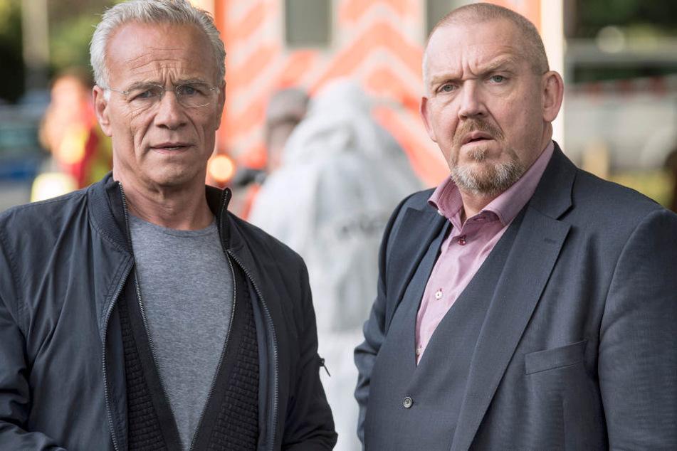 Max Ballauf (Klaus J. Behrendt) und Freddy Schenk (Dietmar Bär).