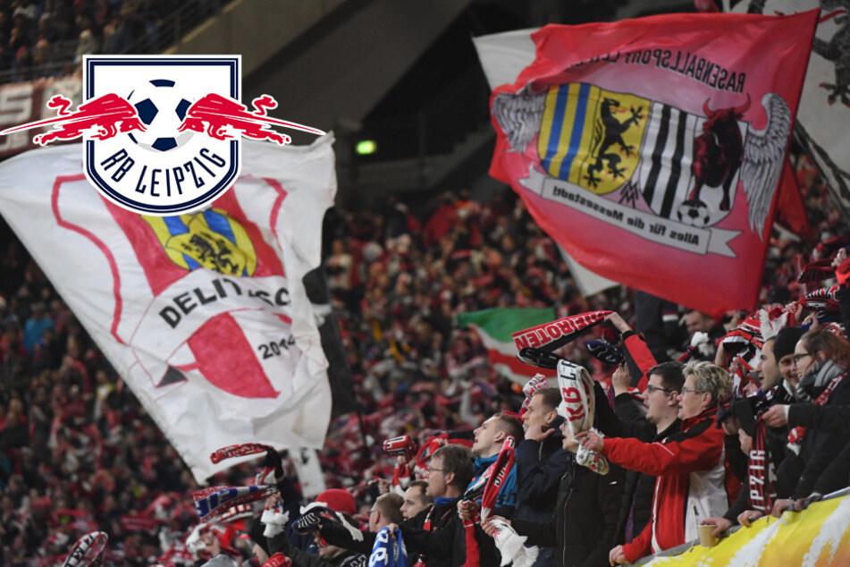 Fans werfen Gegenstände: UEFA bittet RB Leipzig zur Kasse