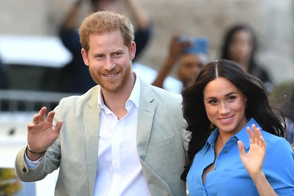 Haben Meghan und Harry mit diesem Detail Geschlecht ihres Babys verraten?