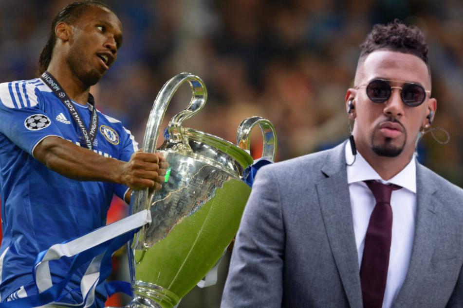 Jerome Boateng verspottet Chelsea, da schaltet sich Didier Drogba ein