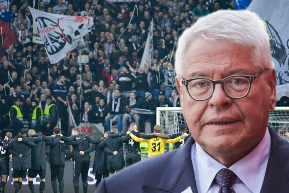 """Dummes Zeug"": Eintracht-Boss Steubing wettert gegen Polizei"