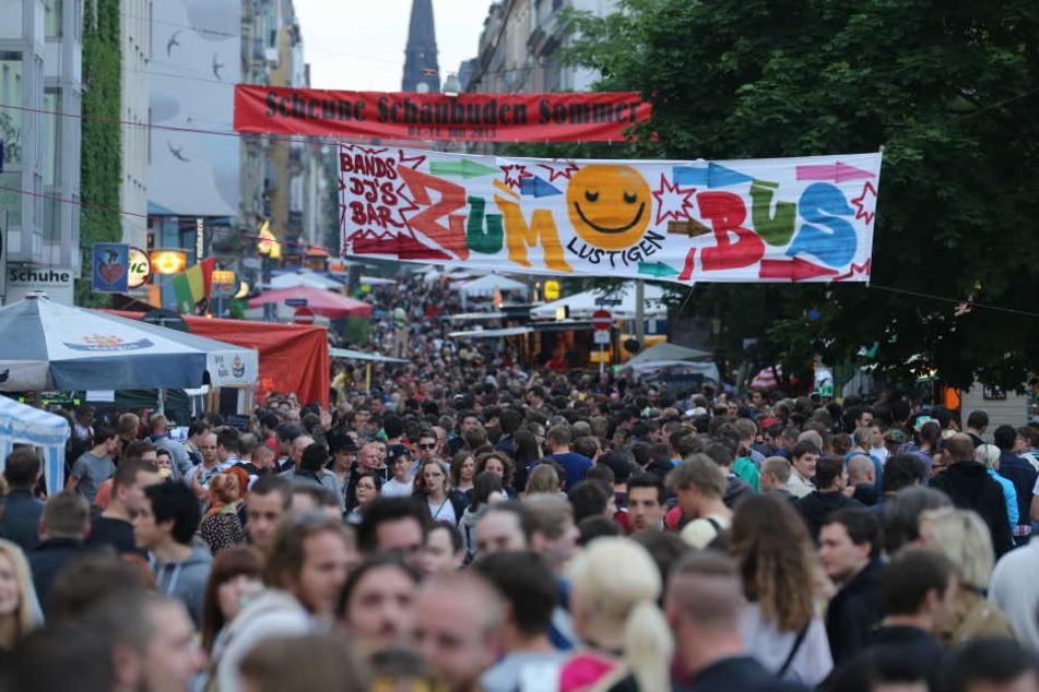 Am Wochenende zieht es alle in die Neustadt! Doch bei Regen macht die BRN auch nur halb so viel Spaß.