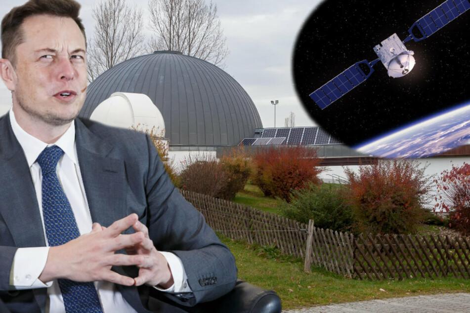 Wegen zu vieler Satelliten: Sachsens Astronomen sauer auf Ami-Milliardär