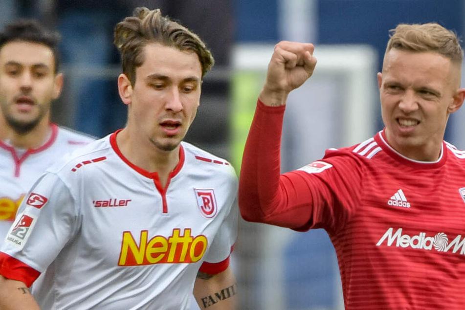Adrian Fein und Sonny Kittel spielen ab der neuen Saison für den HSV.